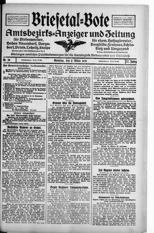 Briesetal-Bote on Mar 6, 1928