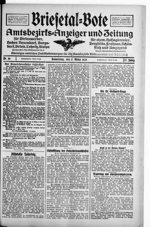 Briesetal-Bote on Mar 8, 1928