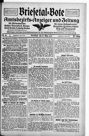 Briesetal-Bote vom 10.03.1928