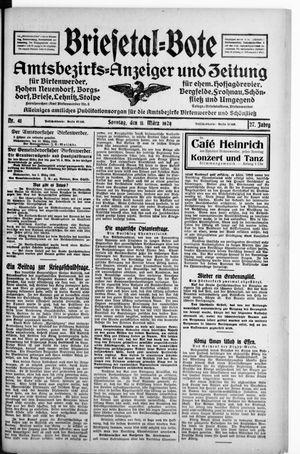 Briesetal-Bote vom 11.03.1928