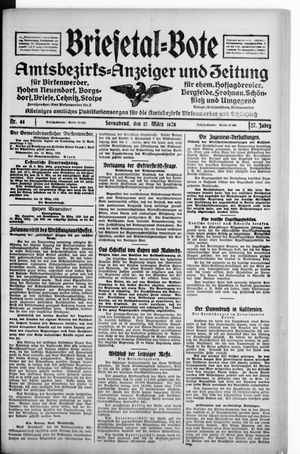 Briesetal-Bote vom 17.03.1928