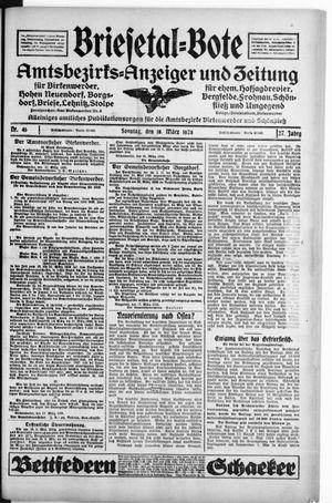 Briesetal-Bote vom 18.03.1928