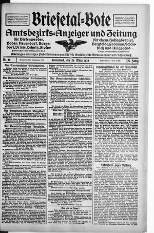 Briesetal-Bote vom 24.03.1928