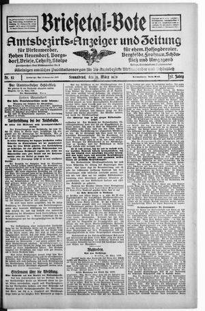 Briesetal-Bote vom 31.03.1928