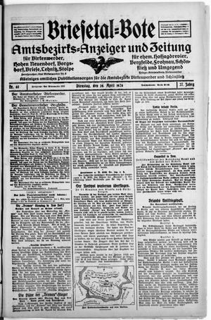 Briesetal-Bote vom 24.04.1928