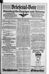 Briesetal-Bote (21.10.1928)
