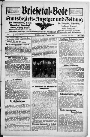 Briesetal-Bote vom 05.01.1930