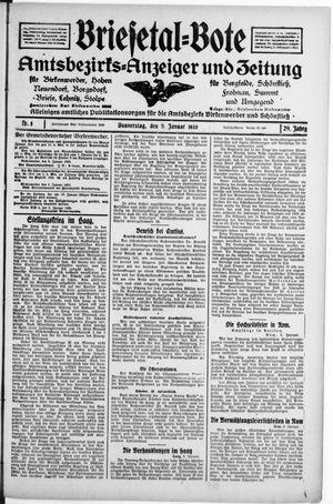 Briesetal-Bote vom 09.01.1930