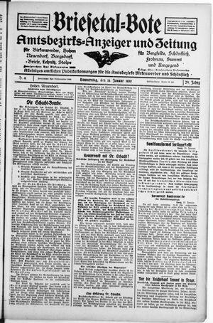 Briesetal-Bote vom 16.01.1930