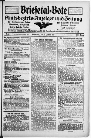 Briesetal-Bote vom 23.01.1930