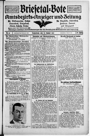 Briesetal-Bote vom 25.01.1930