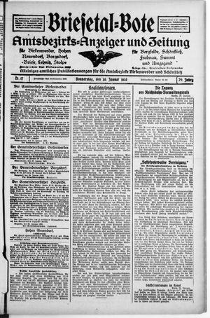Briesetal-Bote vom 30.01.1930