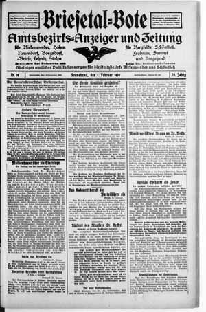 Briesetal-Bote vom 01.02.1930