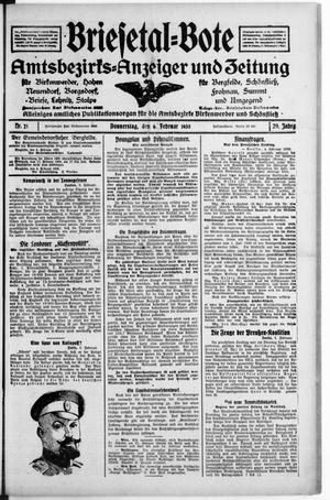 Briesetal-Bote vom 06.02.1930