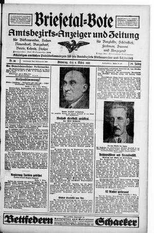 Briesetal-Bote vom 04.03.1930