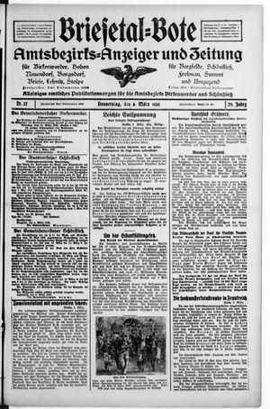 Briesetal-Bote vom 06.03.1930