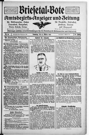 Briesetal-Bote vom 09.03.1930