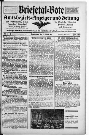 Briesetal-Bote vom 13.03.1930
