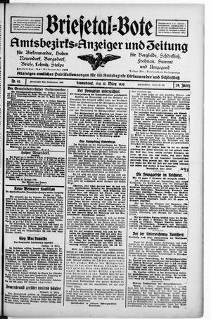 Briesetal-Bote vom 15.03.1930