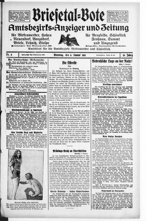 Briesetal-Bote on Jan 6, 1931