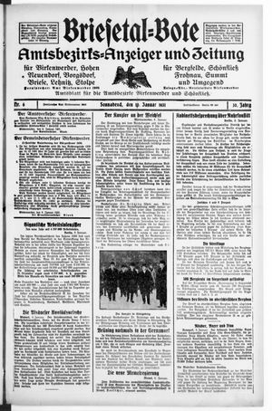 Briesetal-Bote vom 10.01.1931