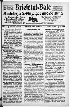 Briesetal-Bote vom 15.01.1931