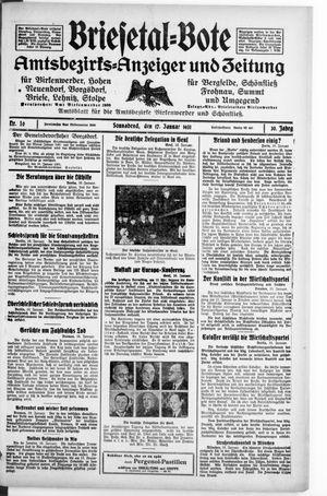 Briesetal-Bote vom 17.01.1931