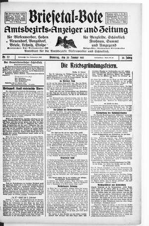 Briesetal-Bote vom 20.01.1931