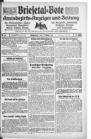 Briesetal-Bote on Feb 5, 1931