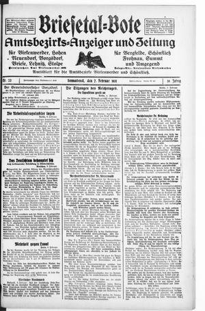 Briesetal-Bote vom 07.02.1931
