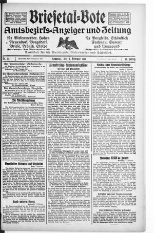 Briesetal-Bote vom 08.02.1931