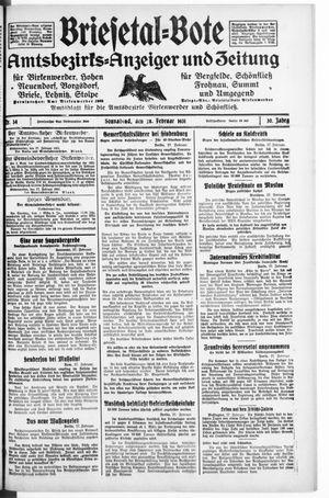 Briesetal-Bote vom 28.02.1931