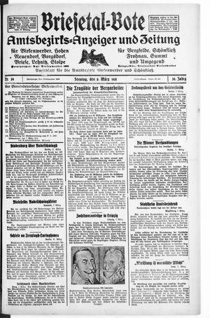 Briesetal-Bote vom 08.03.1931