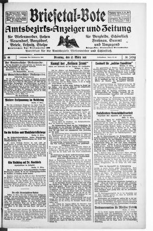 Briesetal-Bote vom 17.03.1931