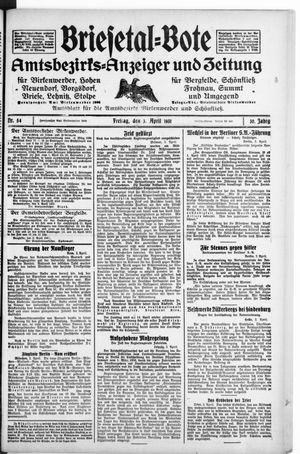 Briesetal-Bote vom 04.04.1931