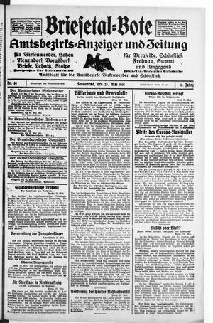 Briesetal-Bote vom 23.05.1931