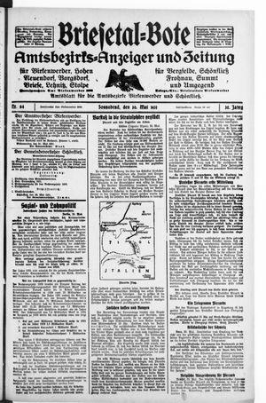 Briesetal-Bote vom 30.05.1931