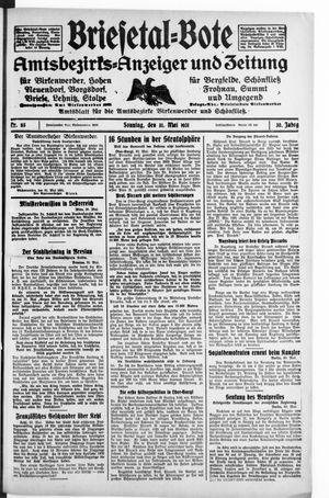 Briesetal-Bote on May 31, 1931