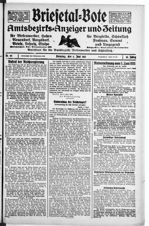 Briesetal-Bote vom 09.06.1931