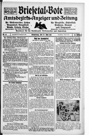 Briesetal-Bote on Jun 11, 1931