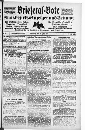 Briesetal-Bote vom 23.06.1931