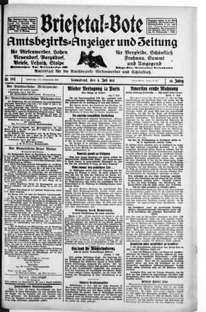 Briesetal-Bote vom 04.07.1931