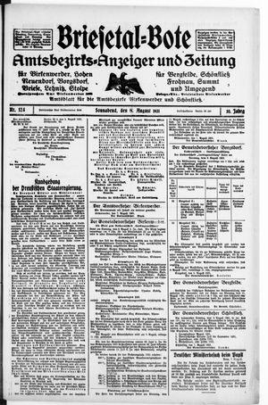Briesetal-Bote vom 08.08.1931
