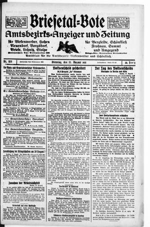 Briesetal-Bote on Aug 11, 1931