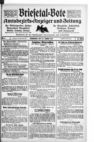 Briesetal-Bote vom 14.01.1933