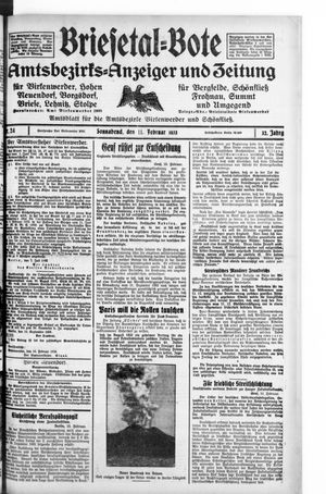 Briesetal-Bote vom 11.02.1933