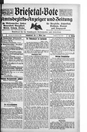 Briesetal-Bote vom 04.03.1933