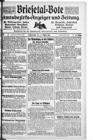 Briesetal-Bote vom 11.03.1933