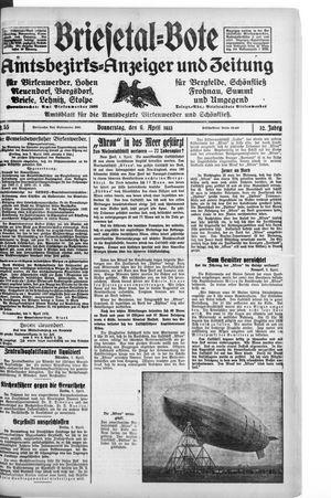 Briesetal-Bote on Apr 6, 1933