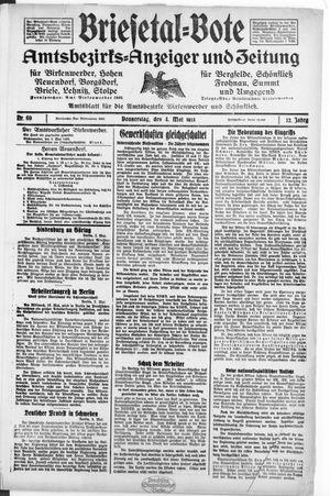 Briesetal-Bote vom 04.05.1933